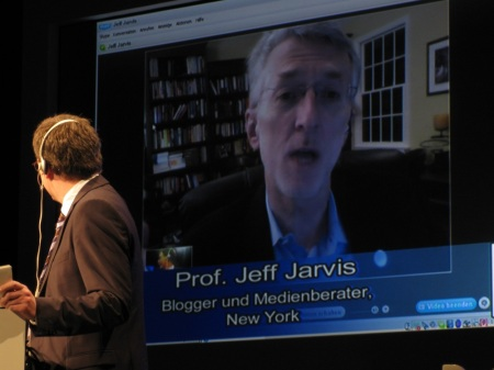 Jeff Jarvis, Keynote Printgipfel, Medientage München 2009